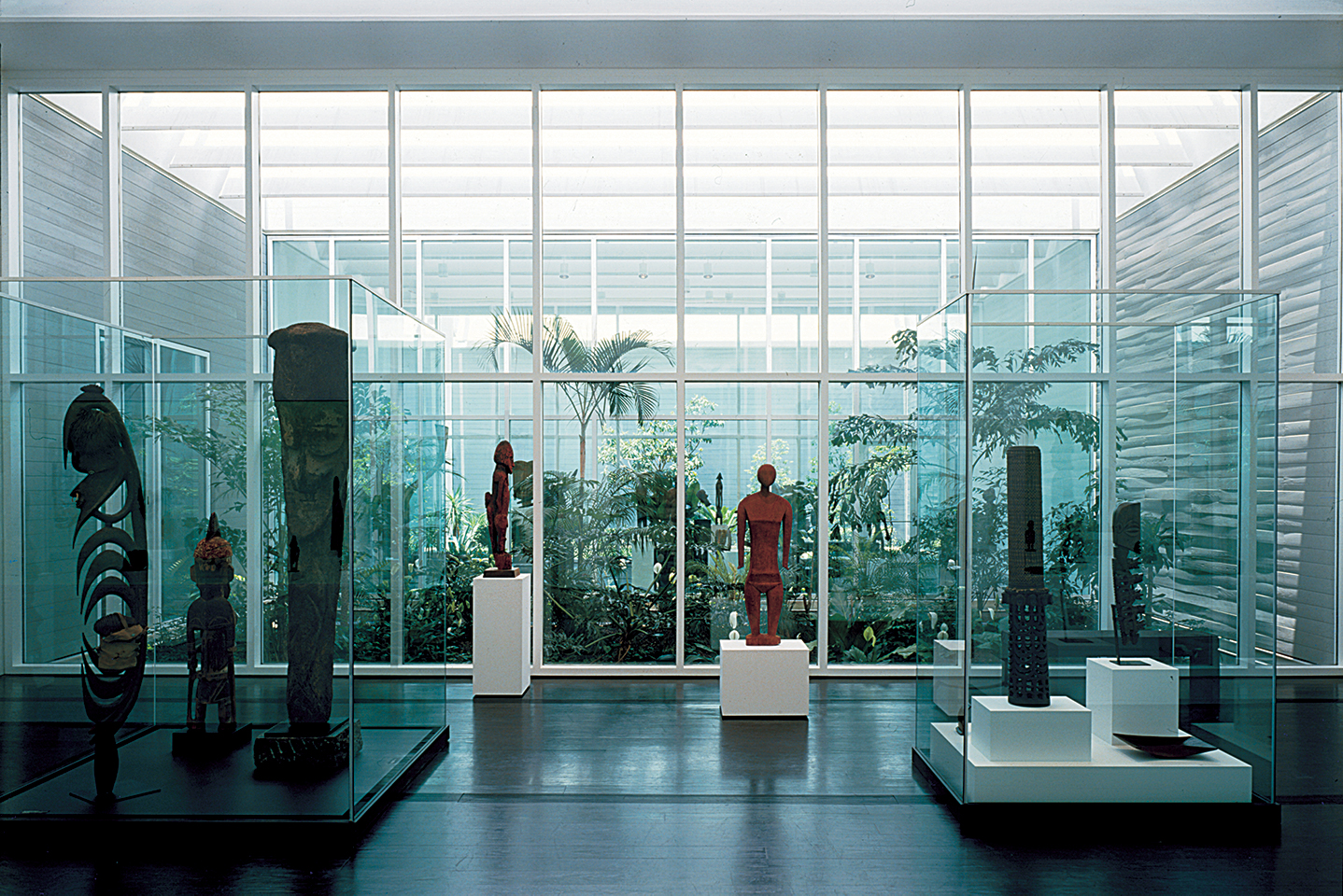 The Menil Collection Museum (interior)