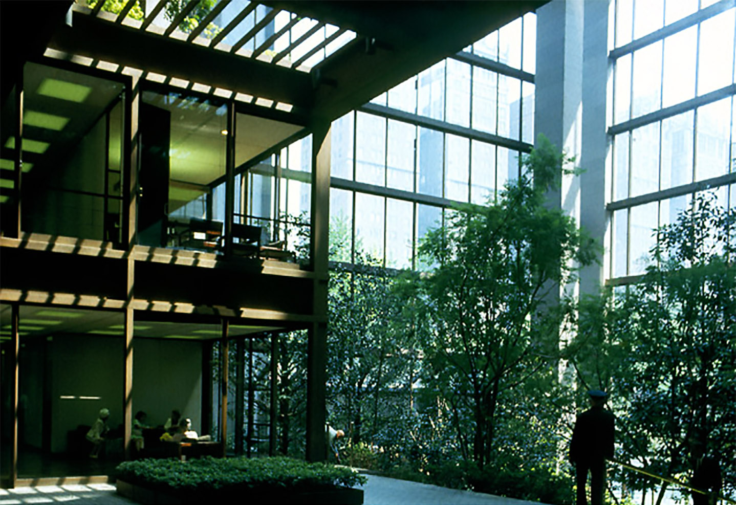 Ford Foundation Headquarters (interior)