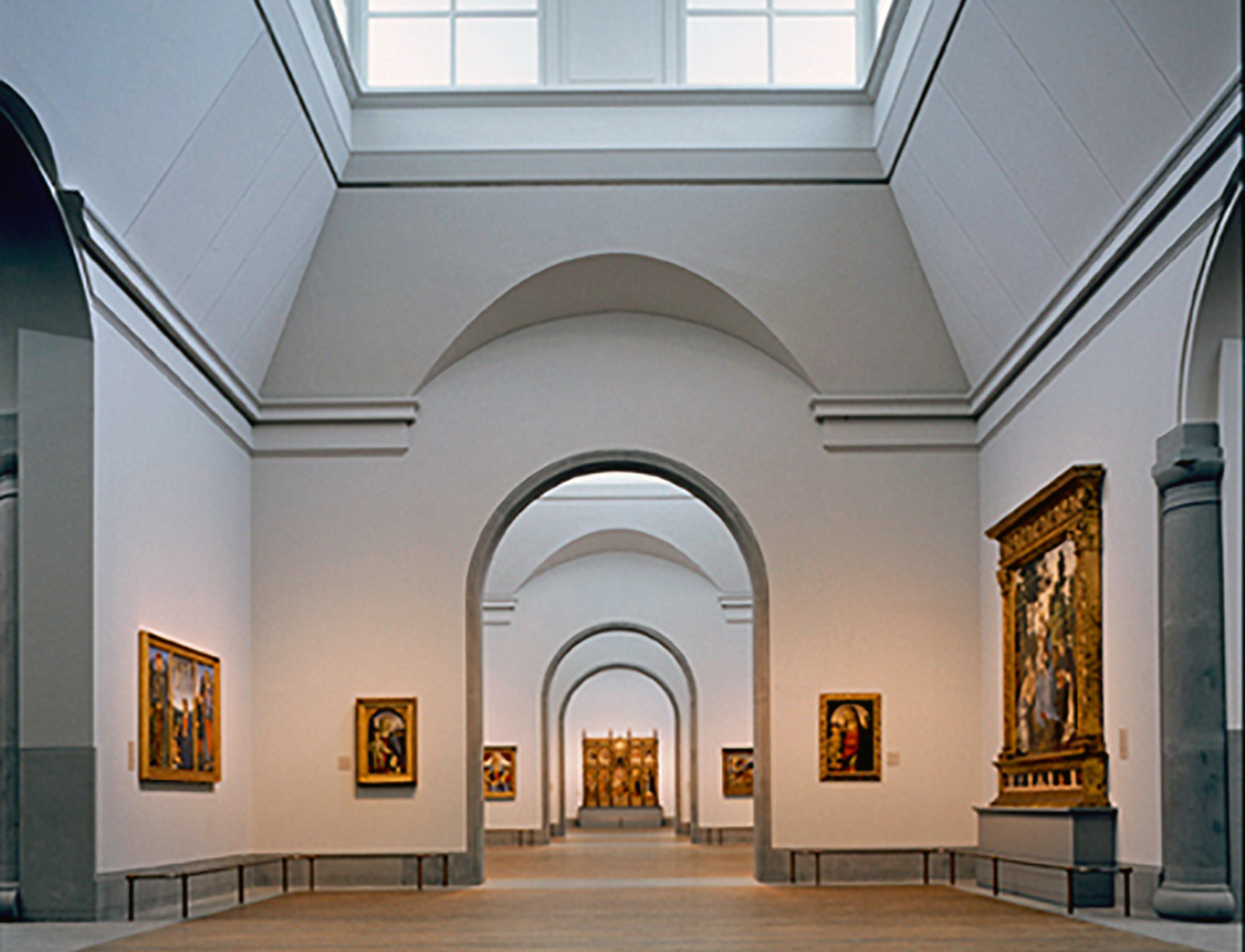 Sainsbury Wing, National Gallery (interior)