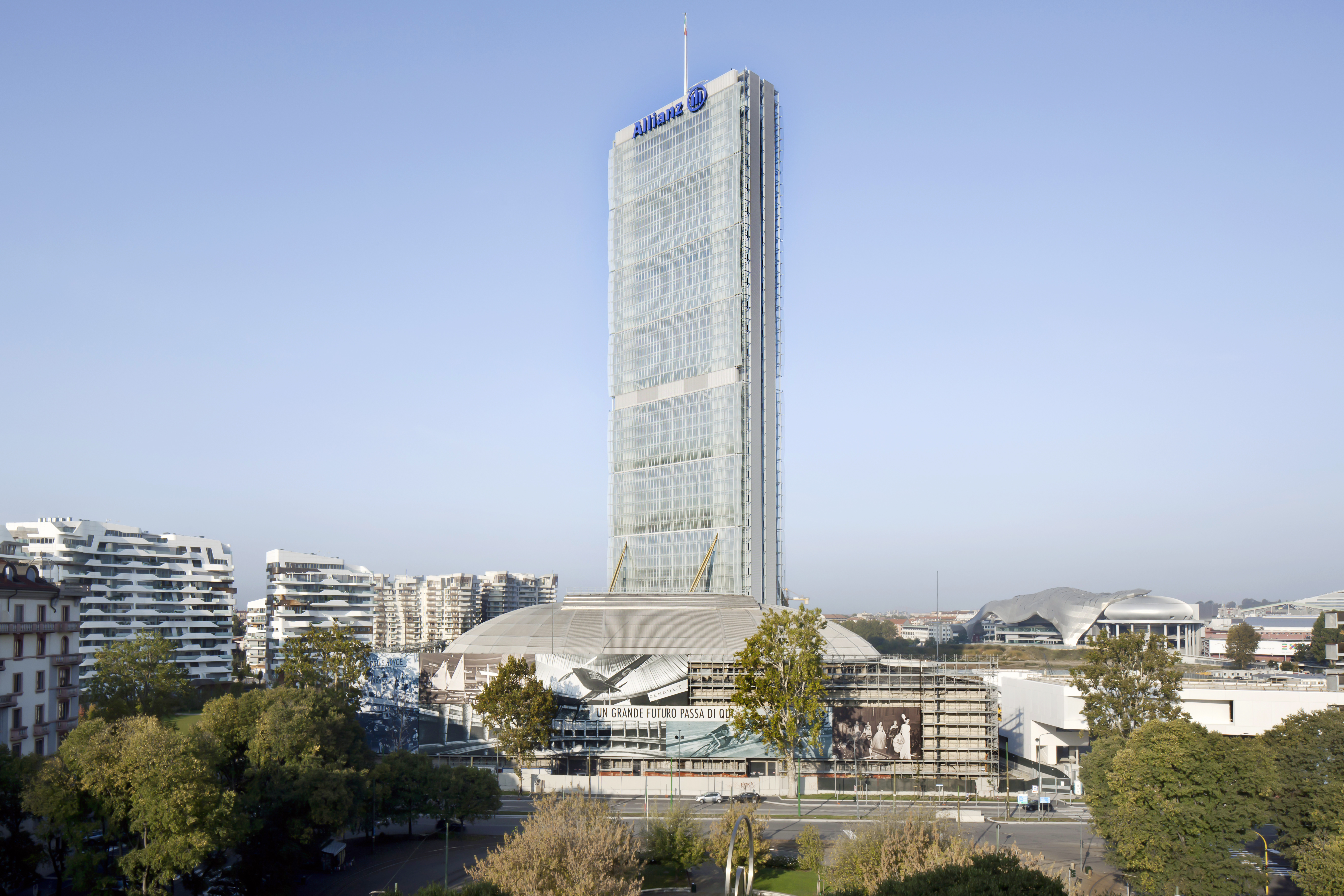Allianz Tower, photo courtesy of Alessandra Chemollo