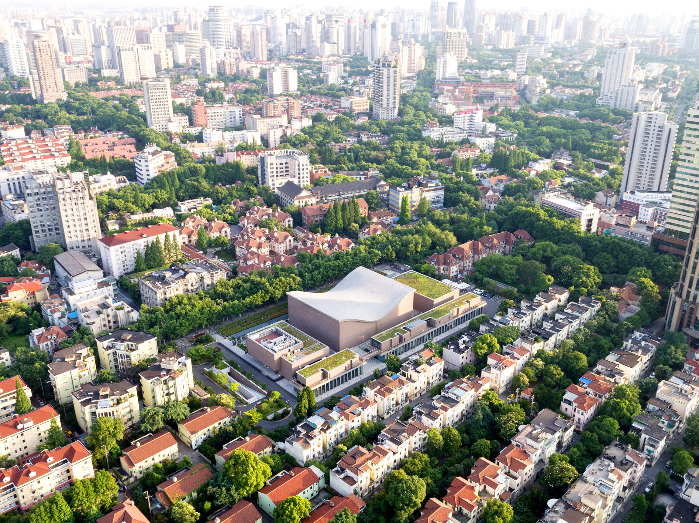 Shanghai Symphony Hall, photo courtesy of Chen Hao