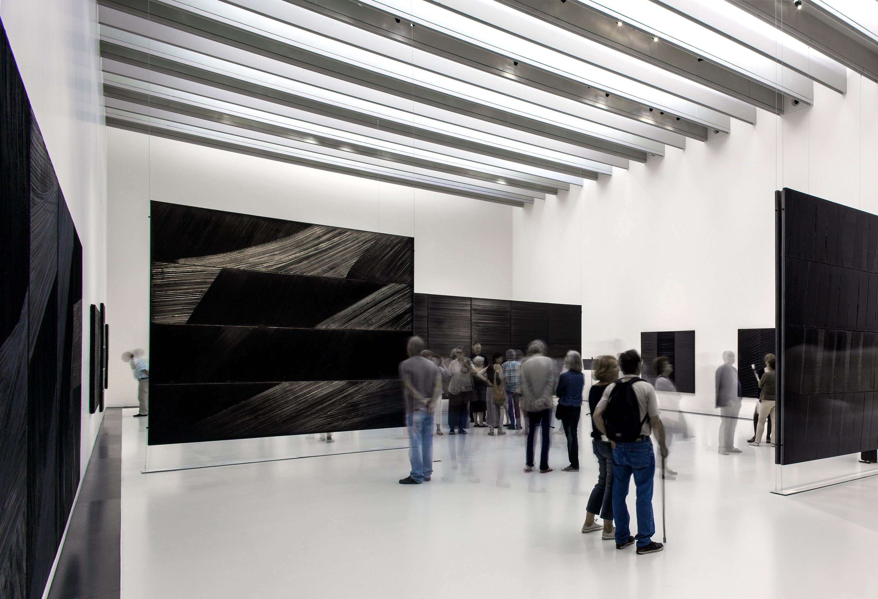 Soulages Museum, 2014, Rodez, France In collaboration with G. Trégouët