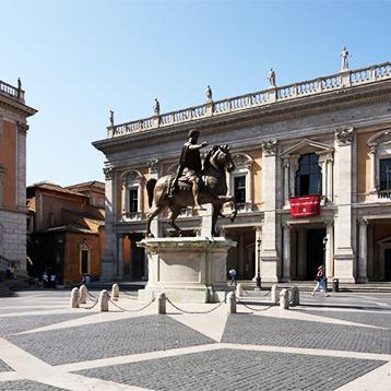 Ceremony Michelangelou0027s Campidoglio