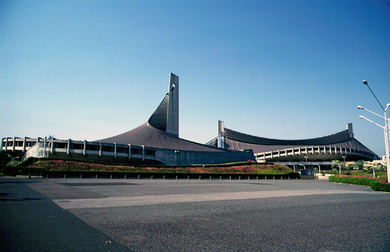 Yoyogi National Gymnasium for the 1964 Summer Olympics