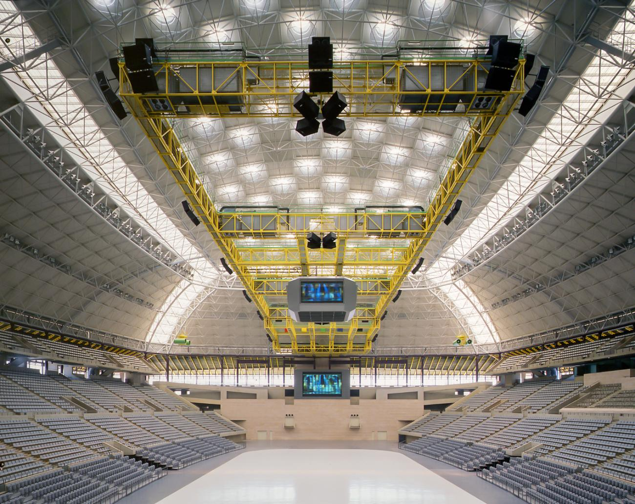Palau Sant Jordi, photo courtesy of Hisao Suzuki