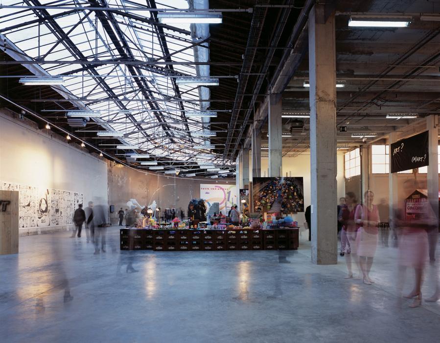 Site for Contemporary Creation, Phase 2, Palais de Tokyo